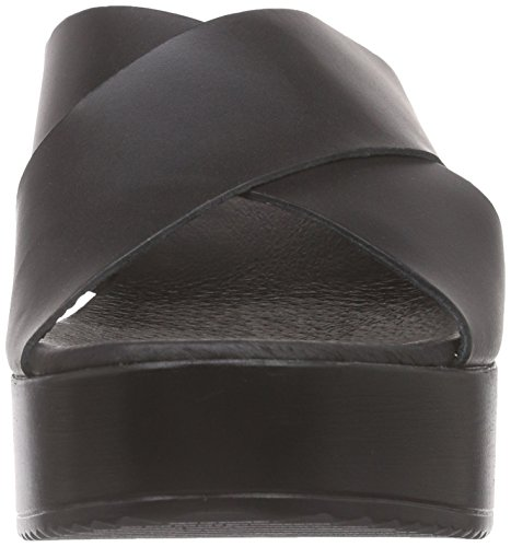 I love candies ILC Sandale - Sandalias con plataforma Mujer Negro - Schwarz (Black LD 009)