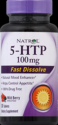 5-HTP, Wild Berry, 100 mg, 30 Tablets ( Multi-Pack) by Natrol
