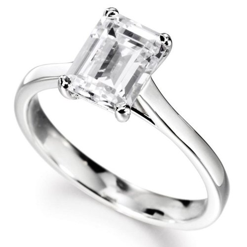 14k Natural Diamond Solitaire Ring - 6