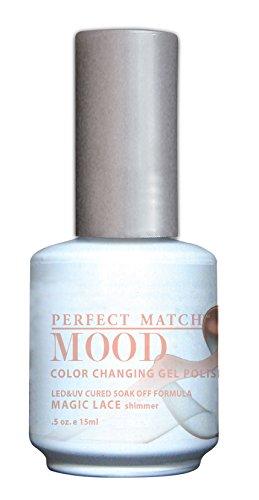 LECHAT Perfect Match Mood Gel Polish, Magic Lace, 0.500 Ounce ()