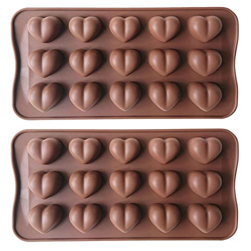 Heart Shaped Chocolate Molds - 2