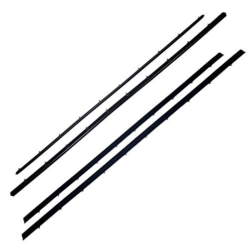 Rear Window Weatherstrip - MAPM - Window Sweep Felt Tailgate Weatherstrip Seal Kit For Ford Bronco 1978-1996