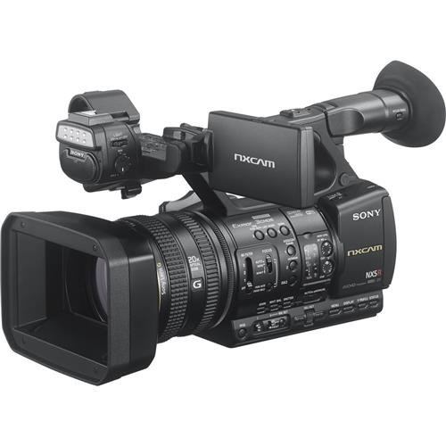 Sony HXRNX5R Full-HD Compact Camcorder 3CMOS with Latest Technology, 3', Black 3