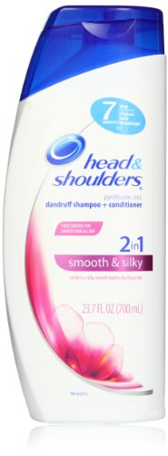 Head and Shoulders Smooth & Silky 2-In-1 Dandruff Shampoo +