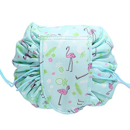 Tinffy Portable Waterproof Lazy Cosmetic Bag Multi-function Drawstring Storage Bag Toiletry Bags