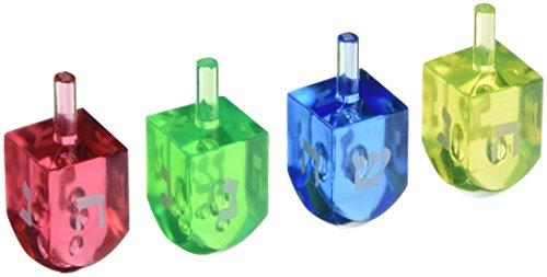 - Hanukkah Plastic Dreidel Game Pack, 4 Ct.   Party Favor