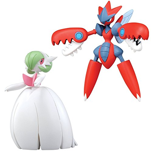 Pokémon 2 Mega Figure Pack- Mega Gardevoir VS Mega Scizor