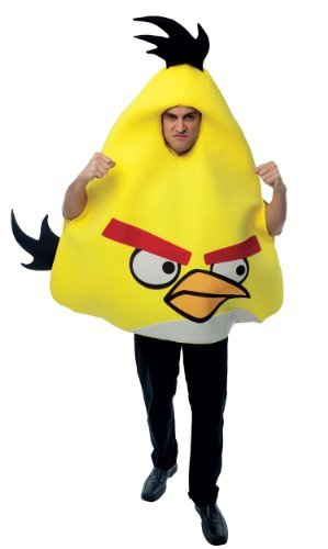 Angry Birds Yellow Bird Adult Costume - Adult Std. -