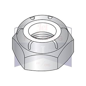 Stop Nut NTE Thin Jam 18-8 Stainless Steel 1//4-20 Nylon Insert Lock 50