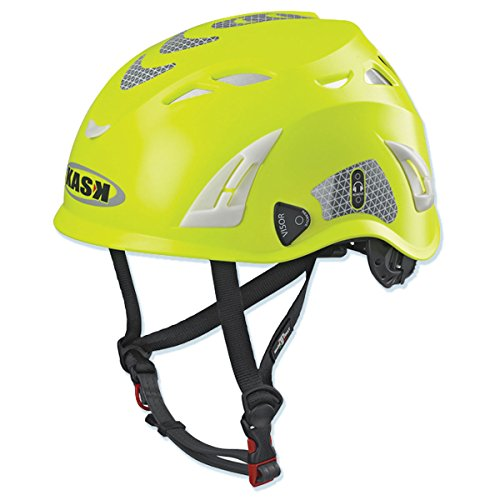 Kask Super Plasma Hi-Vis Helmet - Fluorescent Yellow by Super Plasma