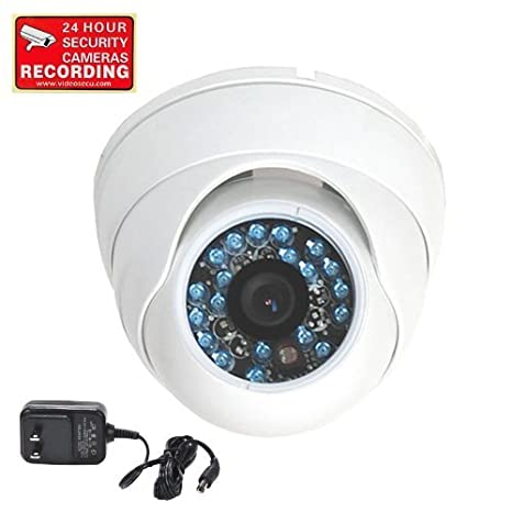 02f886117d9 VideoSecu Day Night Vision Security Camera Infrared CCTV Home Color CCD  Outdoor Vandal Proof 480TVL 3.6