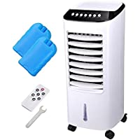 CHIMAERA 3-Speed Portable Evaporative Cooler / Humidifier with Timer and Remote Control