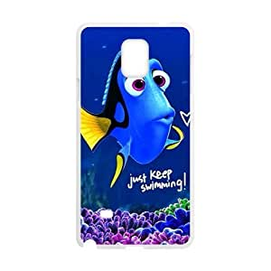 Finding Nemo lovely blue fish Cell Phone Case for Samsung Galaxy Note4