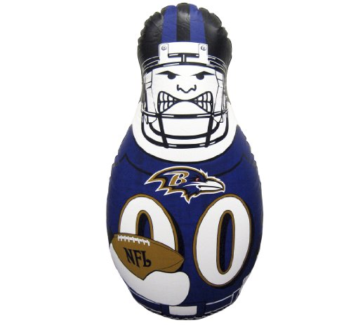 NFL Tackle Buddy Inflatable Punching Bag, 40-Inch Tall