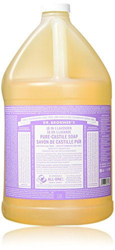 (Dr. Bronner's Pure-Castile Liquid Soap - Lavender, 1 Gallon)