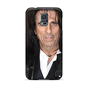 EricHowe Samsung Galaxy S5 Best Cell-phone Hard Cover Support Personal Customs Nice Alice Cooper Band Pattern [nuP16059vMdk]