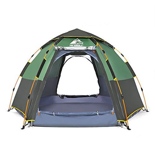 KD Zelt Outdoor Hexagon 3 4  Herrenchen Multi-Automatik Regen Camp Camping Outdoor Camping Home Freizeit Zelt