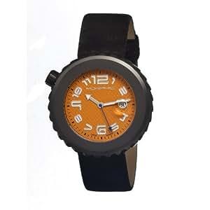 morphic MPH1305 - Reloj para hombres, correa de cuero color negro