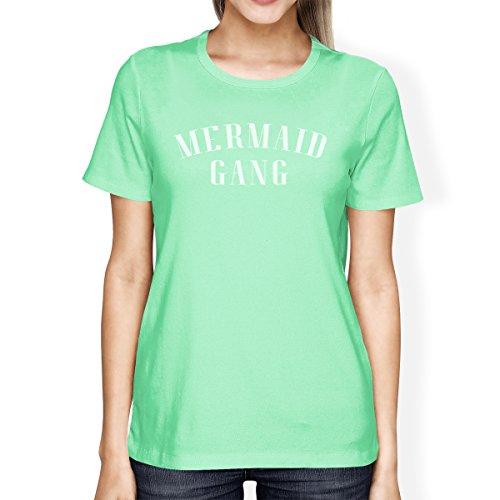Printing Shirt 365 Camiseta Mint mujer para Mermaid corta de manga Gang dv5qxwz5Ur