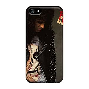 TammyCullen Iphone 5/5s Anti-Scratch Cell-phone Hard Cover Custom High Resolution Alice Cooper Band Series [WYV14256yEXX]