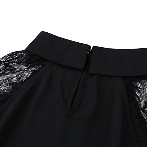 66c06c0d0 Oksale Baby Girl's Floral Lace Blouse Peter Pan Collar Button Top Short  Sleeve Plain Blouse: Amazon.in: Clothing & Accessories