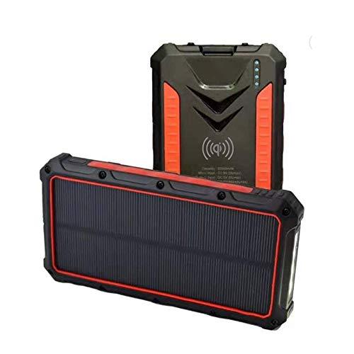 Cargador Solar Portatil Con Bateria De 20000mah Sunlife Rugg
