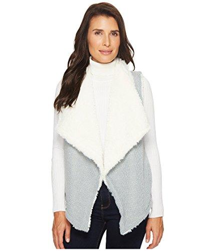 懐疑論特許部分的[モッドドック] レディース コート Sweater and Faux Fur Reversible Vest [並行輸入品]