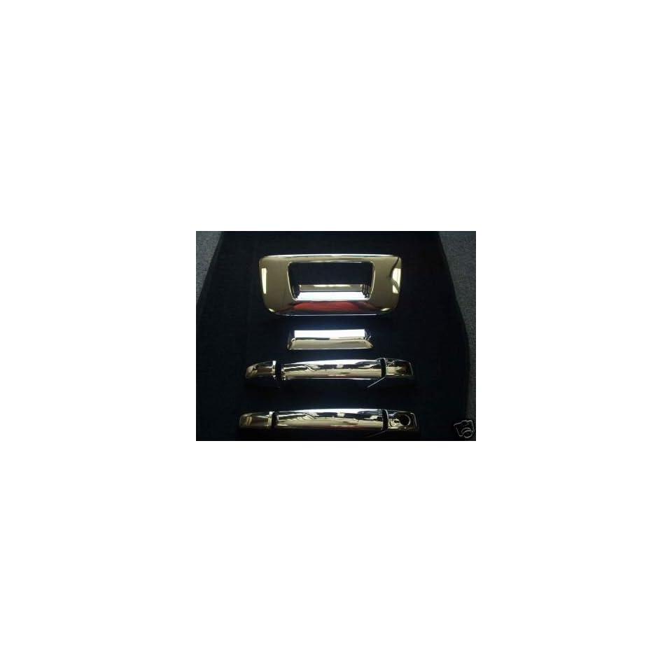 Mirror Polish Chrome Door Handle Cover   GMC Sierra Extended & Single Cab 07 08 Automotive
