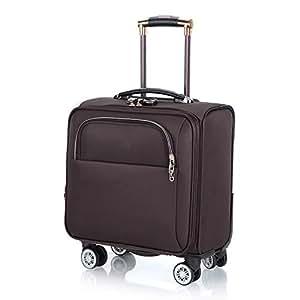 Maleta para equipaje de mano de mano con cabina de viaje de 18 pulgadas con 4