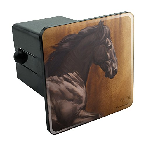 ack Horse Racing Tow Trailer Hitch Cover Plug Insert 2