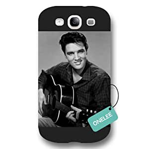 Onelee(TM) - Elvis Presley Frosted Samsung Galaxy S3 Case & Cover - Black 19