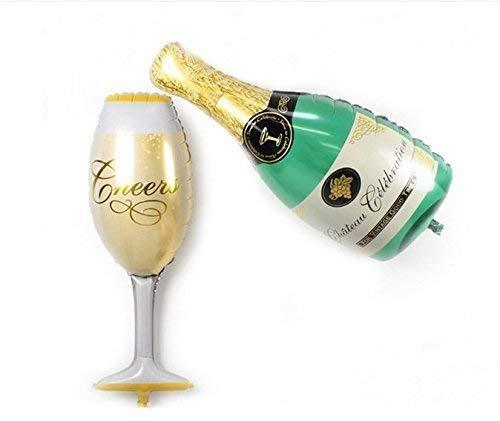 Vektenxi Globos de graduación de calidad premium, botella de ...