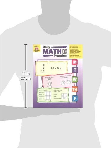 Workbook free printable graph worksheets : Amazon.com: Daily Math Practice, Grade 2 (9781557997425): Evan ...