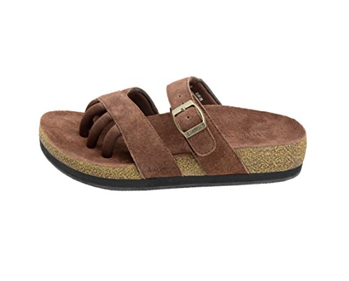 Wellrox Women's Terra-Newport Brown Casual Sandal 8