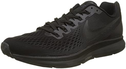 Nike Men's Marquee Leather BlackDark GreyAnthrctWht Casual Shoes