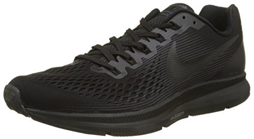 Nike Mens Air Zoom Pegasus 34 Black/Dark Grey/Anthracite Running Shoe 8 Men US ()