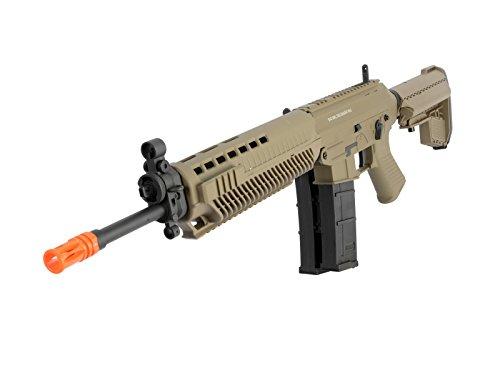 (Sig Sauer 556 Full Metal AEG Airsoft Rifle, Tan airsoft gun)