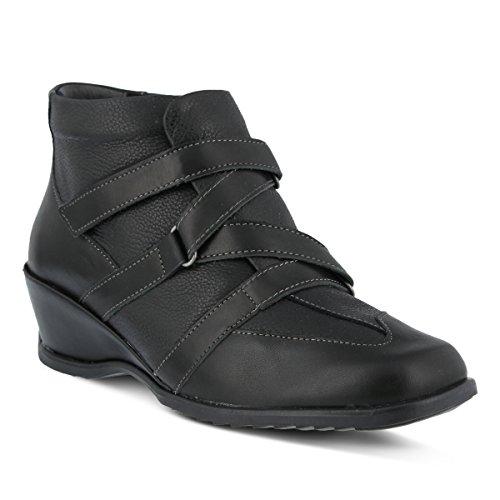 Spring Step Women's Allegra Ankle Bootie, Black, 41 EU/9.5-10 M US