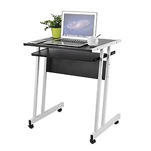 Homgrace Mesa para Ordenador portátil, Escritorio de Acero y ...