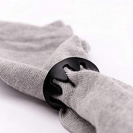 Juego de 20//30//50 incluye Bolsa de algod/ón de alta calidad Pinzas para calcetines de silicona en blanco y negro Pinzas de calcetines para lavadora y secadora Jonas Ester