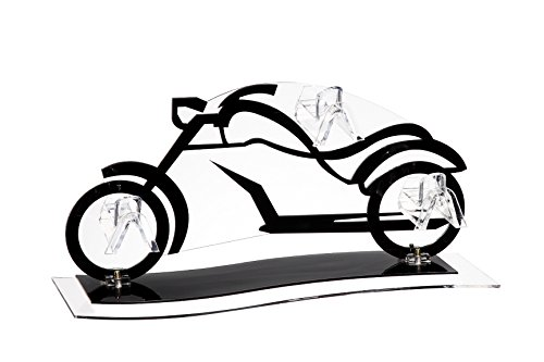 Vintage Acrylic Motorcycle Bike Sunglasses, Glasses and Eyewear Accessories Display Stand, Black - 11.5 x 0.1 x 5 - Diy Rack Sunglasses