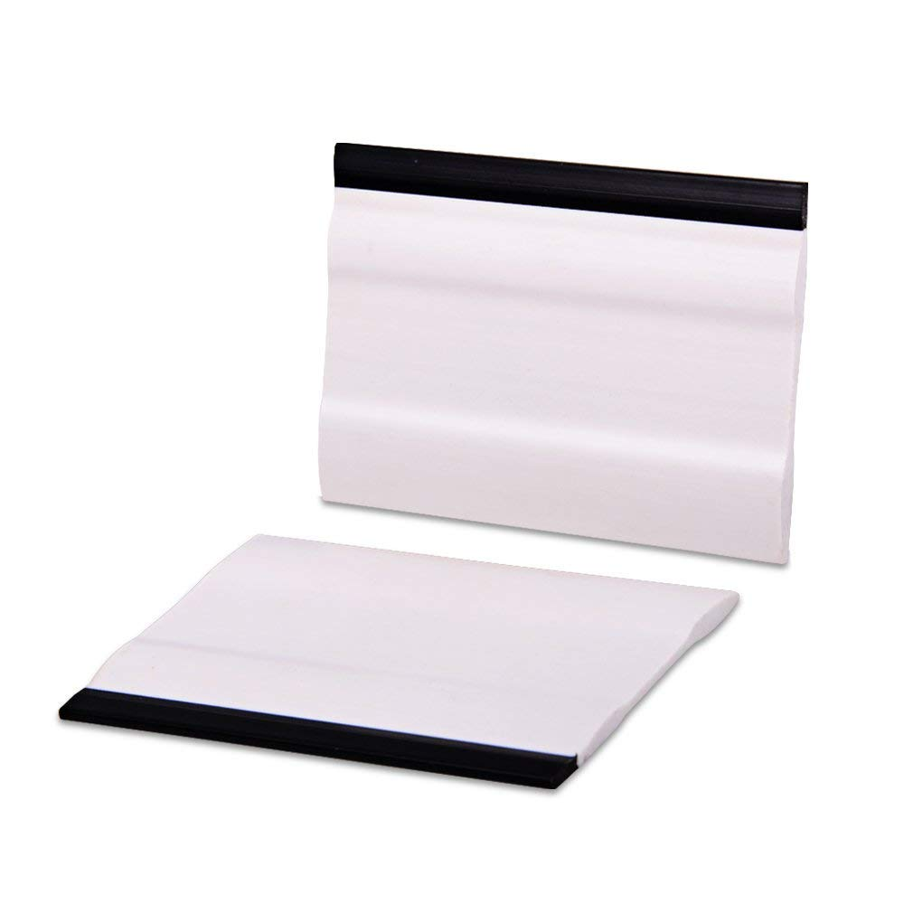 GUGUGI 2PCS 6Inch Block Squeegee Vehicle Rubber Squeegee for Vinyl Wrap Decals Install, Window Tint, Rearview Mirror Clean
