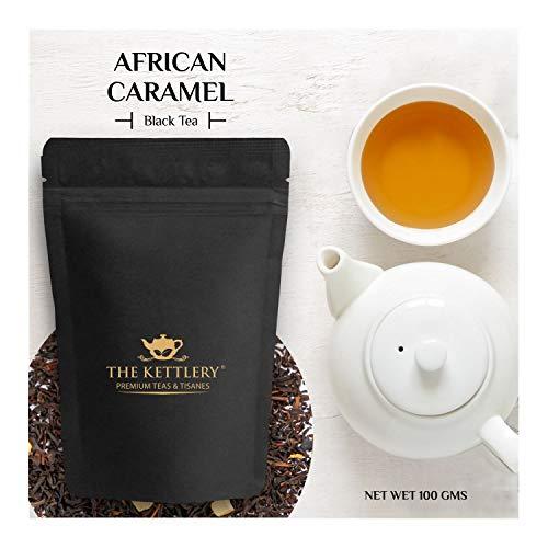 Caramel Milk Tea - African Caramel Milk Chocolate Tea, Loose Leaf Black Tea, The Kettlery