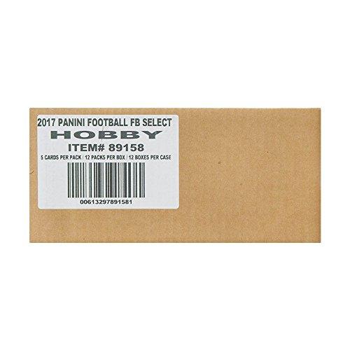 2016 Panini Select Football Hobby 12-Box Case