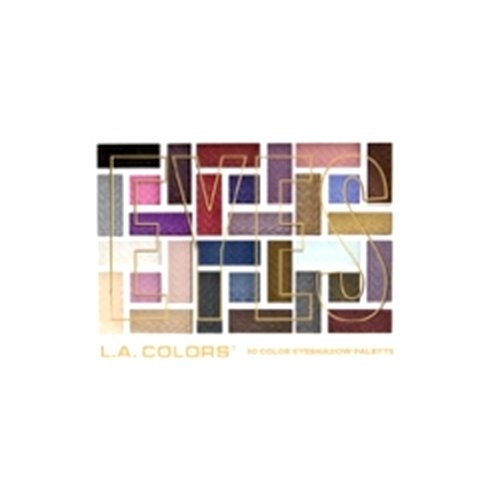 L.A. COLORS 30 Color Eyeshadow Palette - Back To Basics