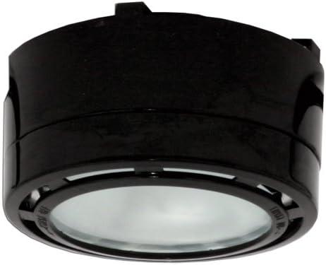 Amazon.com: American Lighting ALPX40BK 12 Volt Under Cabinet Puck Lighting  Kit, Xenon Bulb, 2 Pack, Black: Home Improvement