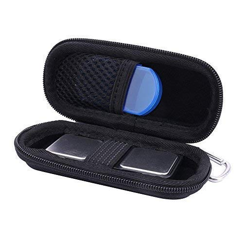 Hard Storge Case for SnapECG EKG Monitor/AliveCor Kardia Mobile ECG with Pill Organizer by Anellosi (for Handheld)
