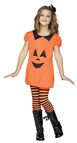 Big Girls' Pumpkin Romper