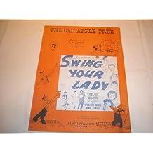 THE OLD APPLE TREE MK JEROME HUMPHREY BOGART 1938 SHEE SHEET MUSIC 214