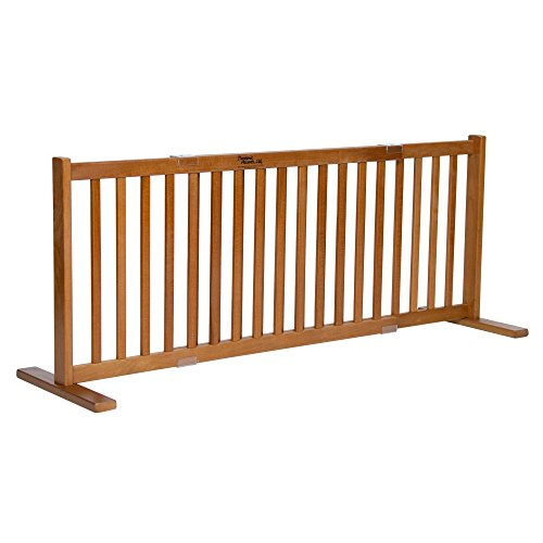 Dynamic Accents 20 in. All Wood Small Free Standing Gate - Artisan by Dynamic Accents